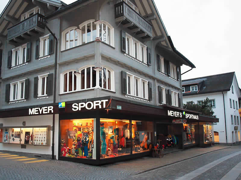 Magasin de location de ski Meyer's Sporthaus à Gotthardstrasse 62, Andermatt