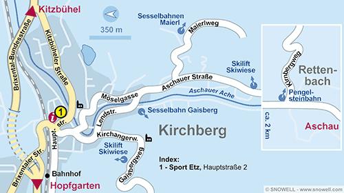 Plan Kirchberg i. Tirol
