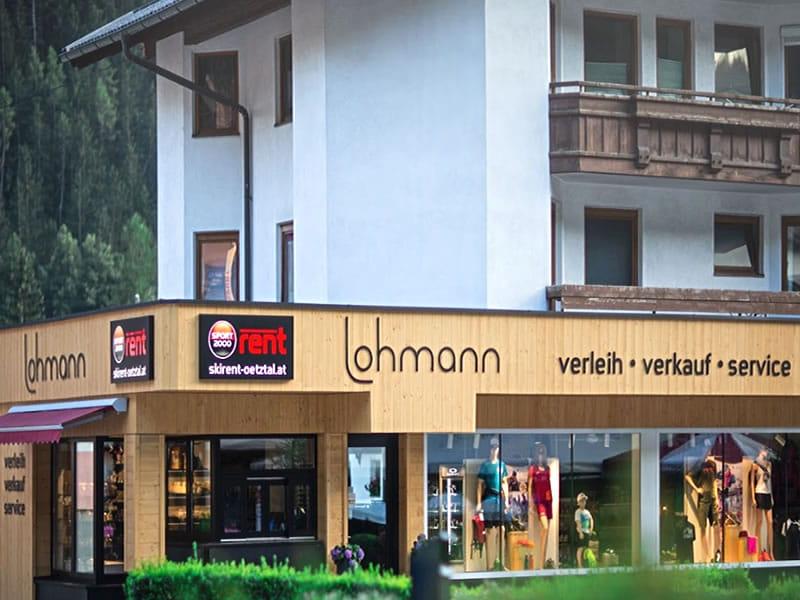 Magasin de location de ski SPORT 2000 Lohmann à Hauptstrasse 45, Oetz