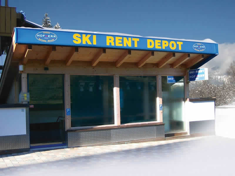 Magasin de location de ski Hofherr Sport à Haus Egghof - HNr. 24, Berwang