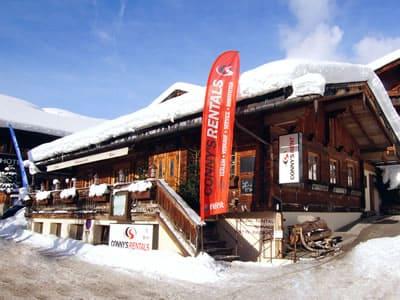 Magasin de location de ski Sport Conny's, Alpbach à HNr. 184b [Dorf]