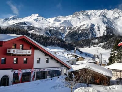Magasin de location de ski Sportalm Wassermann, Nauders à HNr. 216