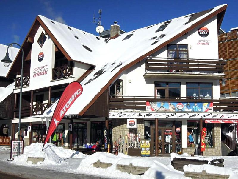 Magasin de location de ski Sport Cermak, Harrachov à HNr. 622