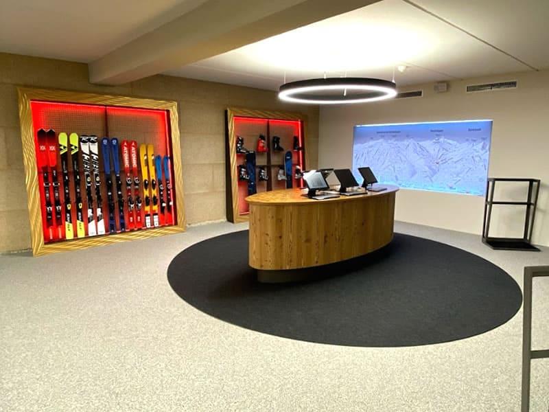 Magasin de location de ski SPORT 2000 RENT Unterlercher à Hochfügener Str. 88 - Talstation Spieljochbahn, Fügen