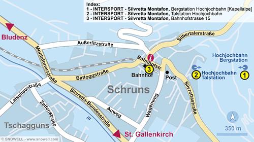 Plan Schruns