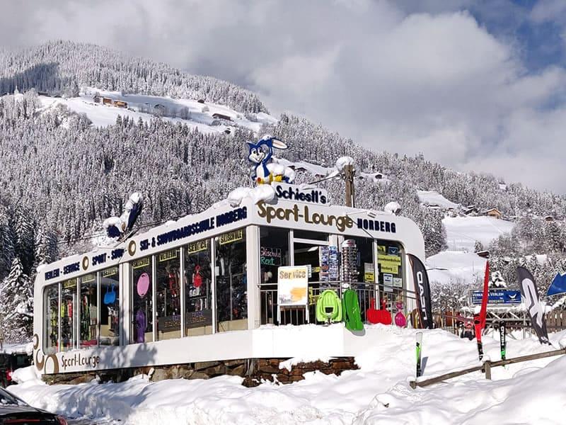 Magasin de location de ski Sport Schiestl, Horbergbahn Talstation - Kohlstatt 260 à Schwendau