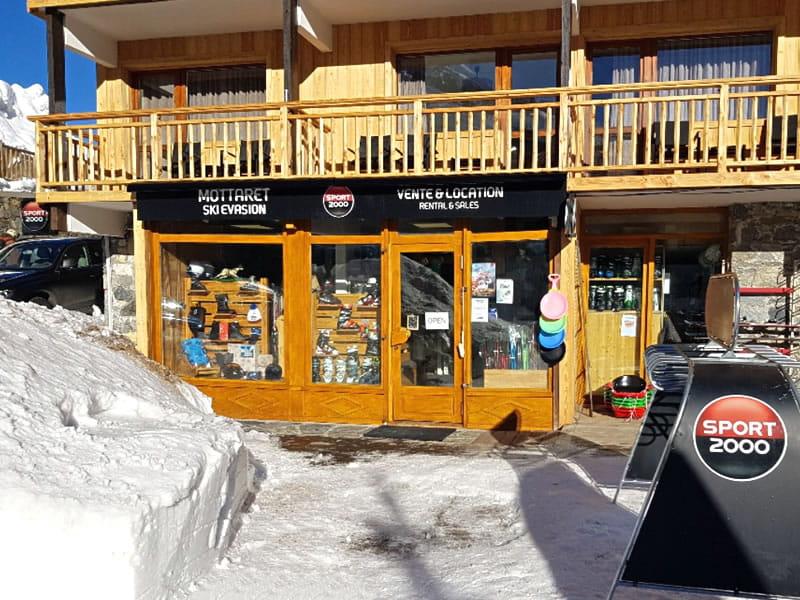Magasin de location de ski MOTTARET SKI EVASION à Hôtel Le Mottaret, Meribel Mottaret