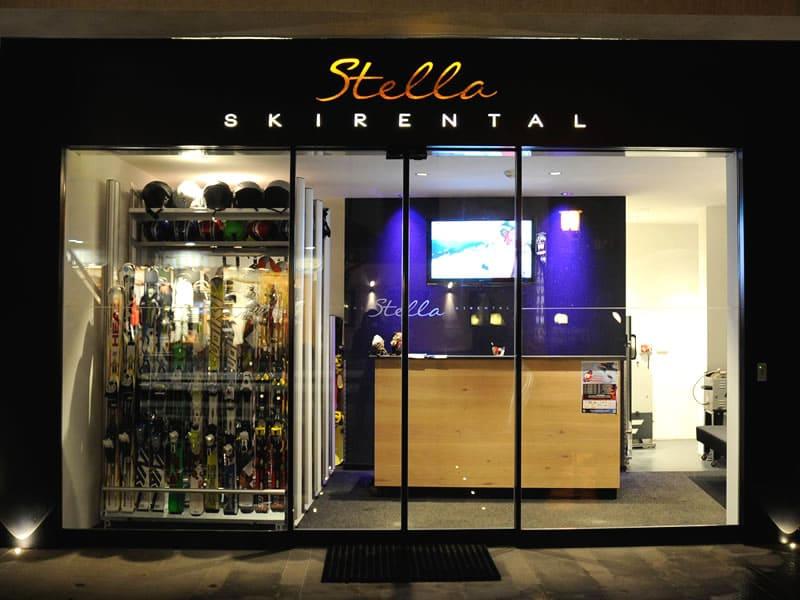 Magasin de location de ski Top Ski Rental à Hotel Stella - Streda Meisules 283, Wolkenstein-Selva Gardena