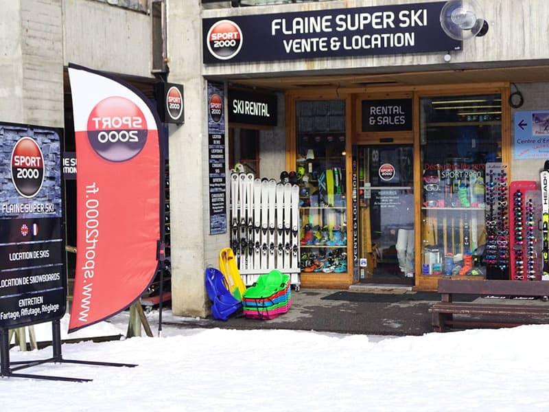 Magasin de location de ski FLAINE SUPER SKI à Immeuble Aldébaran, Flaine