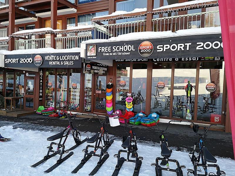 Magasin de location de ski DELAY SAVOIE SPORT à Immeuble Les Tournavelles - Les Villards, Les Arcs 1800