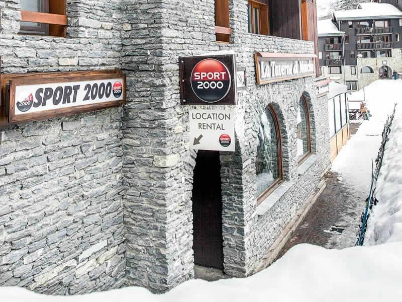 Magasin de location de ski RI GLISSE SPORT à Immeuble Trompe l'Œil - Bellentre, La Plagne - Les Coches