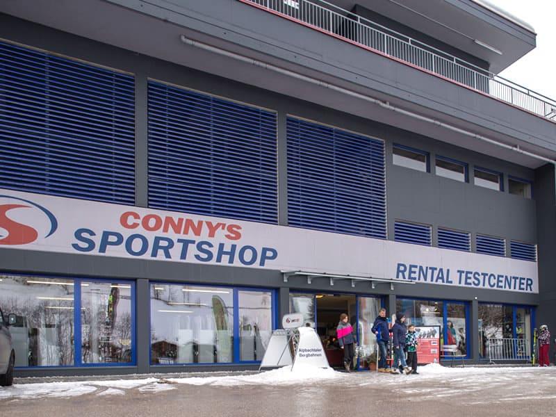 Magasin de location de ski Sport Conny's à Inneralpbach 553 [Talstation Pöglbahn], Alpbach