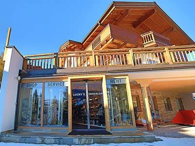 Magasin de location de ski Lucky's Skiverleih, Königsleiten-Wald à Königsleiten 78