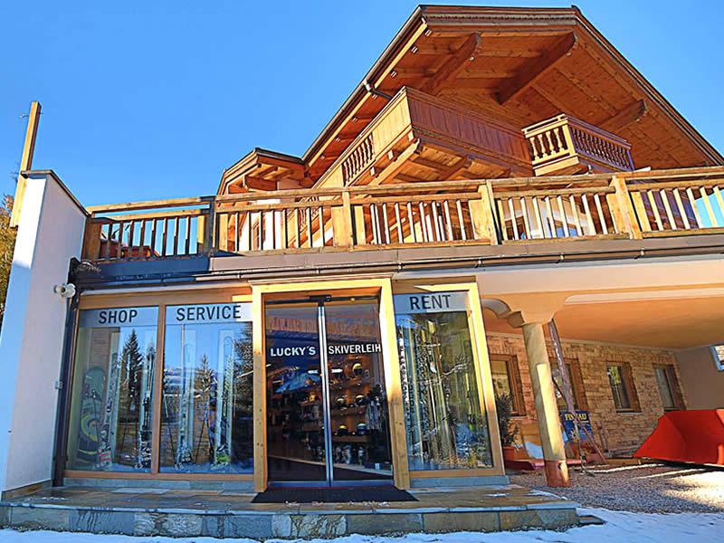 Magasin de location de ski Lucky's Skiverleih à Königsleiten 78, Königsleiten-Wald
