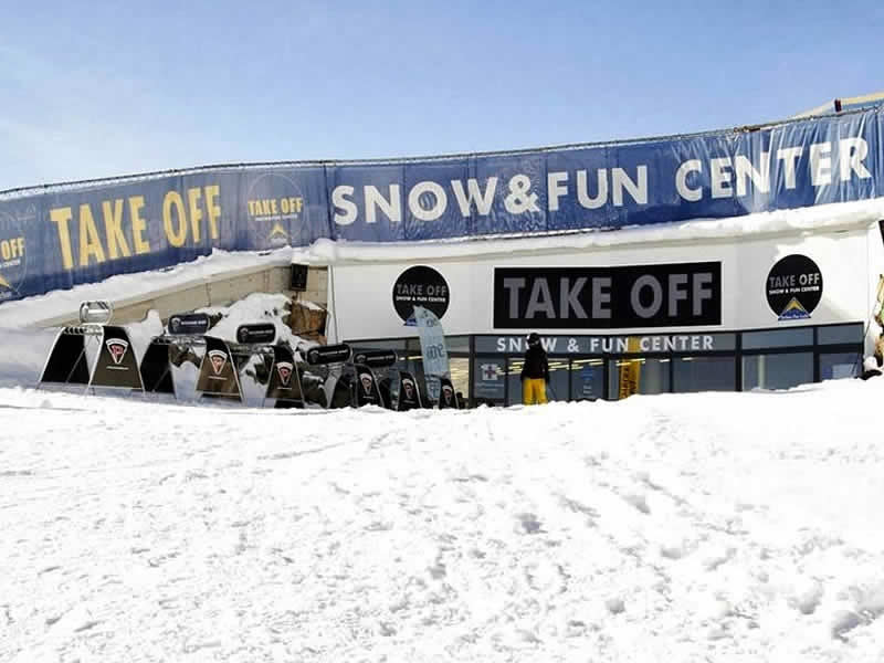 Magasin de location de ski Takeoff Snow + Fun Center à Komperdell Mittelstation, Serfaus