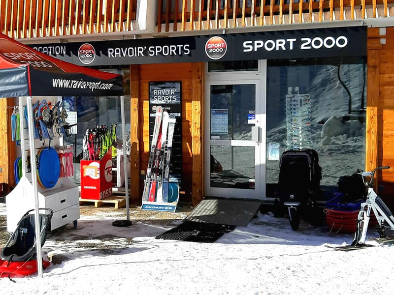 Magasin de location de ski RAVOIR'SPORTS, L'Alouette à Saint Francois Longchamp