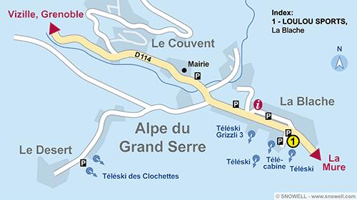 Location ski alpe du grand serre snowell - Office du tourisme alpes du grand serre ...