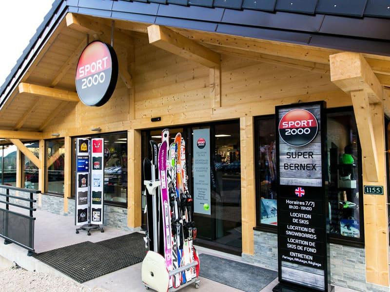 Magasin de location de ski SUPER BERNEX SPORT à La Plallud (La Fouly Station), Bernex