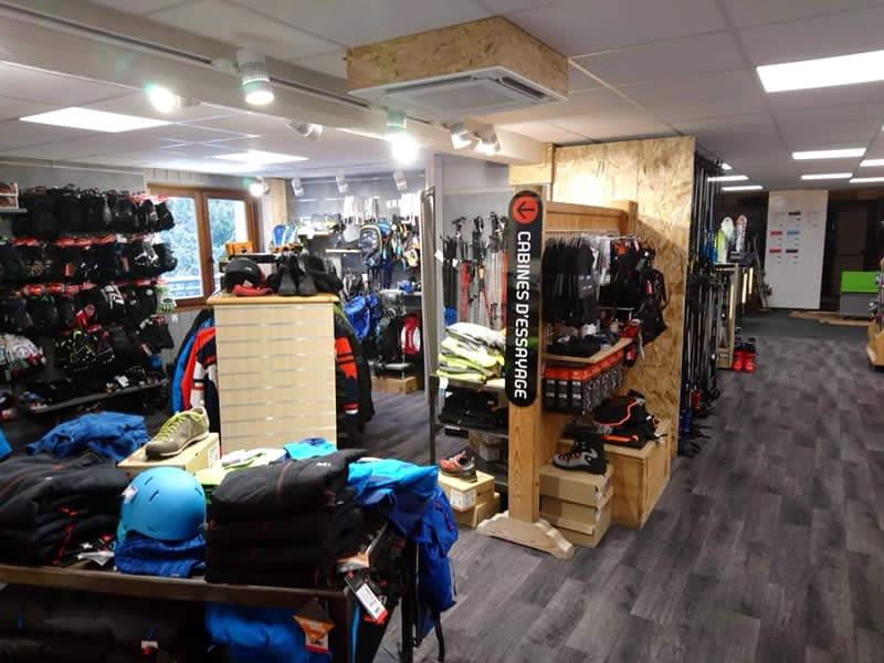 Magasin de location de ski SUPER BERNEX SPORT, La Plallud (La Fouly Station) à Bernex