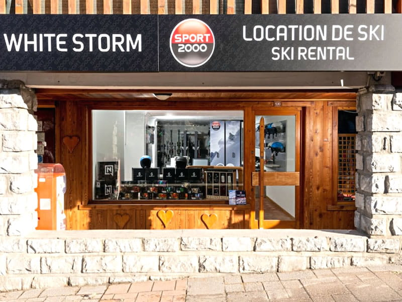 Magasin de location de ski WHITE STORM, La Tougnete - Route de la Chaudanne à Meribel