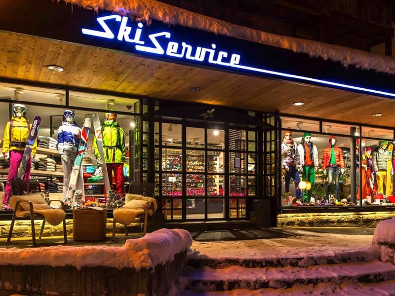 Magasin de location de ski Ski Service, La Vallée Blanche à Verbier