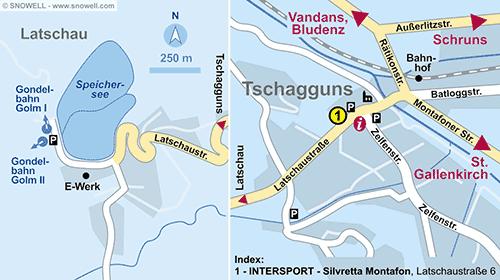 Plan Tschagguns