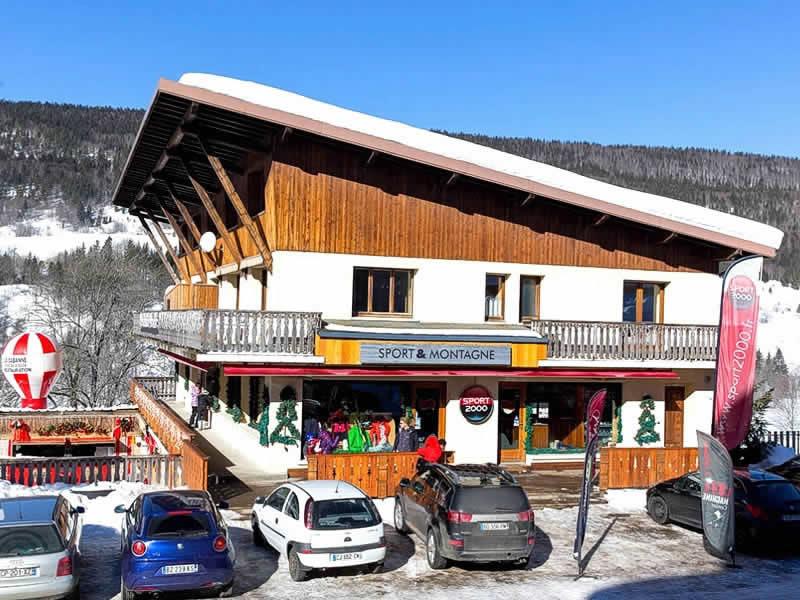 Magasin de location de ski SPORT 2000 GROSSIORD à Le Brocard, Lelex