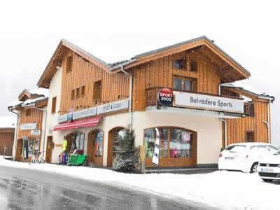 Magasin de location de ski BELVEDERE SPORTS, Champagny en Vanoise à Le Crey