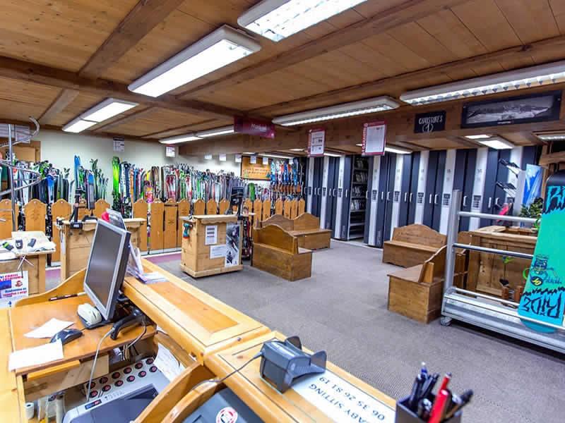 Magasin de location de ski GERMAIN SPORTS à Le Linga, Chatel