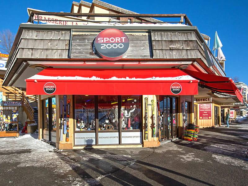 Magasin de location de ski RICHARD SPORTS à Le rond point des Pistes, Orcieres Merlettes