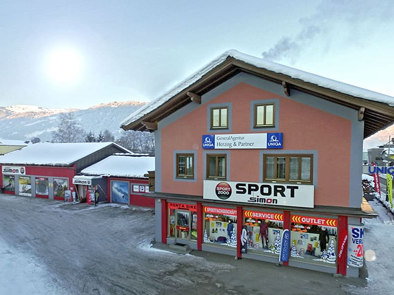 Magasin de location de ski SPORT 2000 Simon à Leogangerstraße 23, Saalfelden