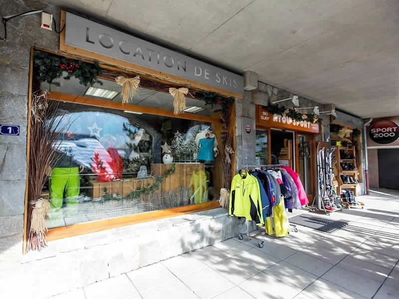 Magasin de location de ski Atou Sport à Les balcons de Vaujany, Vaujany