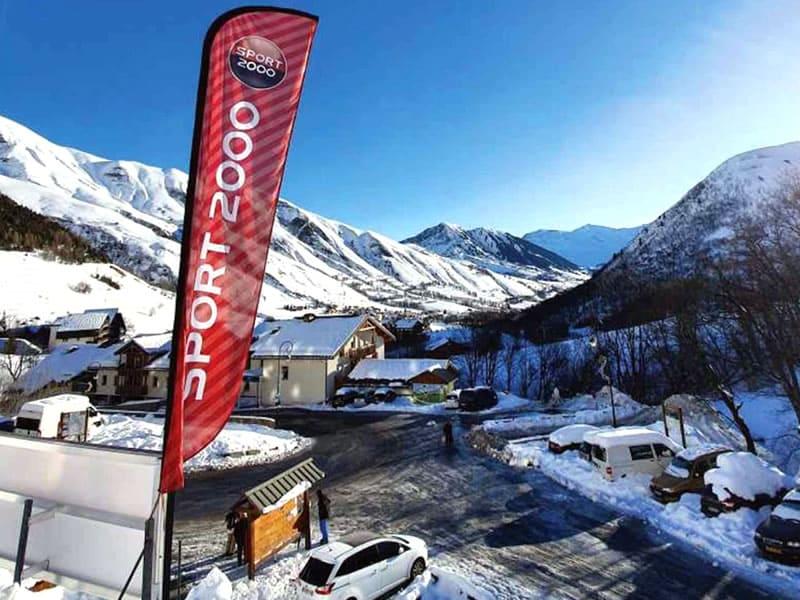Magasin de location de ski L'OUILLON SPORTS à Les Gentianes - Le Bourg, Saint Sorlin d Arves