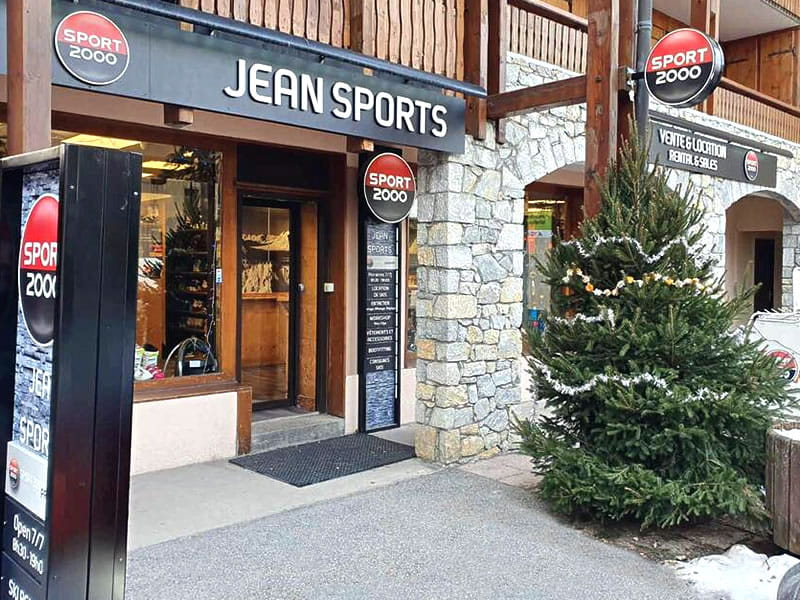 Magasin de location de ski JEAN SPORTS à Les Grangeraies - Rue Notre Dame, Saint Martin de Belleville