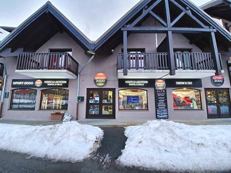 Magasin de location de ski SNOW AND SKI VALMEINIER 1900 à Les Hauts de Valmeinier, Valmeinier 1800