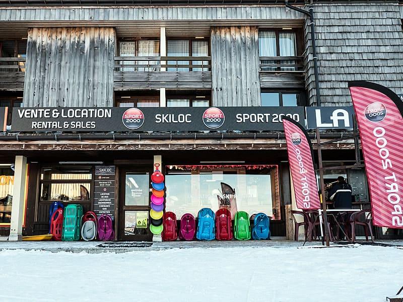 Magasin de location de ski SKI LOC, Les Plateaux de Saix à Samoëns 1600