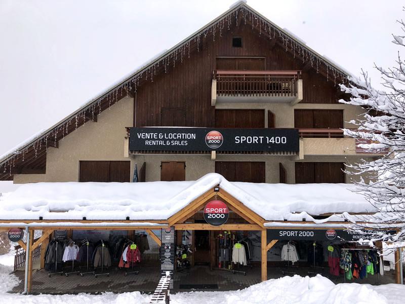 Magasin de location de ski SPORT 1400, Les Près à Puy Saint Vincent 1400
