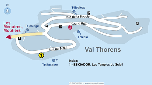 Plan Val Thorens