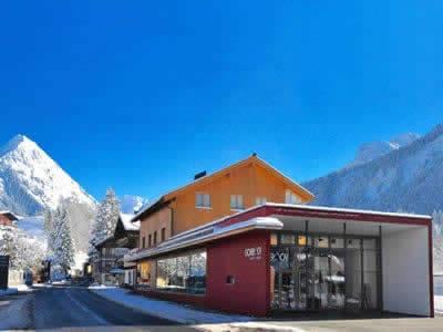 Magasin de location de ski Sport + Mode Gorbach, Au/Schoppernau à Lugen 95