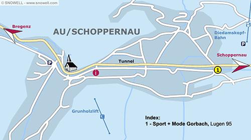 Plan Au/Schoppernau