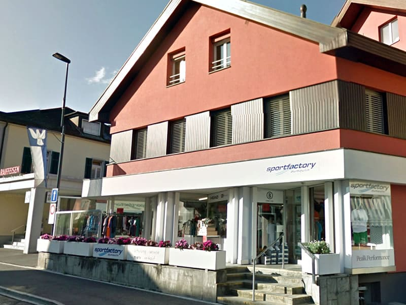 Magasin de location de ski Sportfactory Dumoulin à Maienfelderstrasse 4, Bad Ragaz
