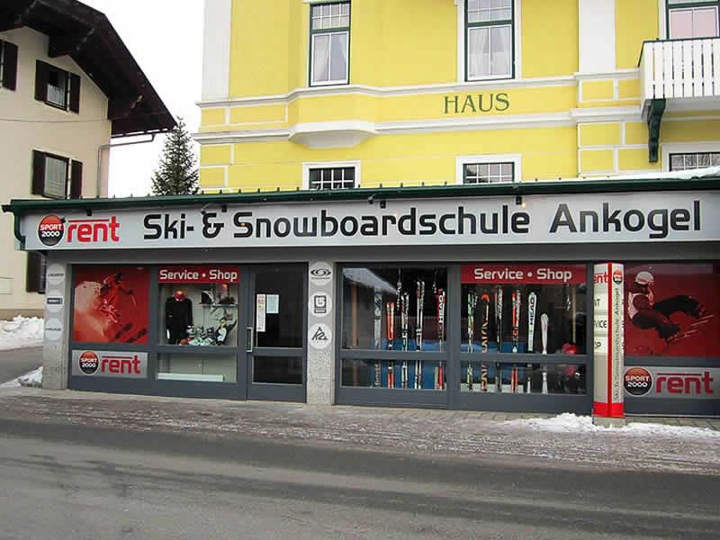 Magasin de location de ski Schischule Ankogel à Mallnitz 41, Mallnitz