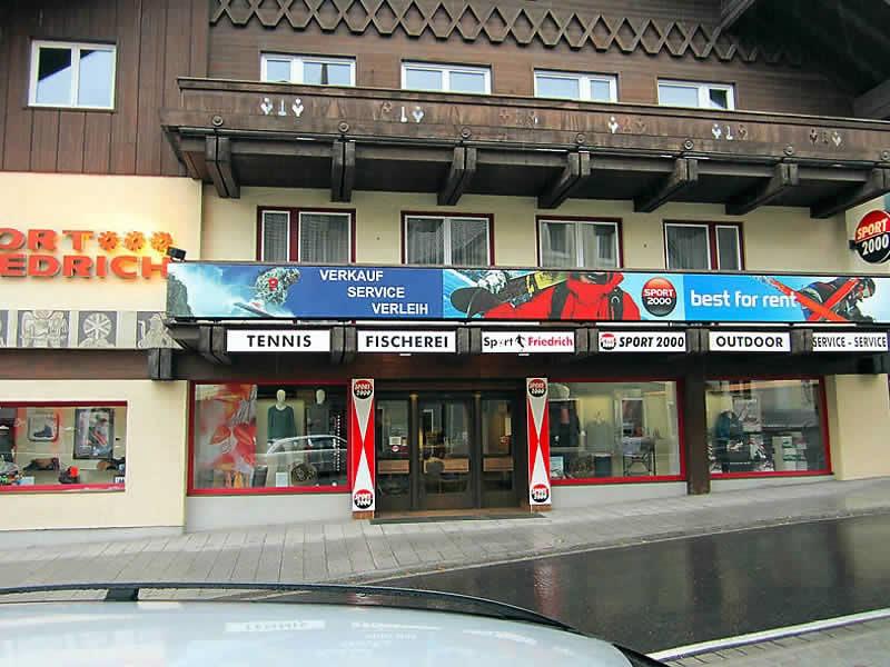 Magasin de location de ski SPORT 2000 Friedrich à Marktstrasse 3, St. Michael