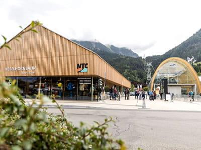 Magasin de location de ski NTC - Oberstdorf, Oberstdorf à Nebelhornstrasse 67 - Nebelhornbahn Talstation