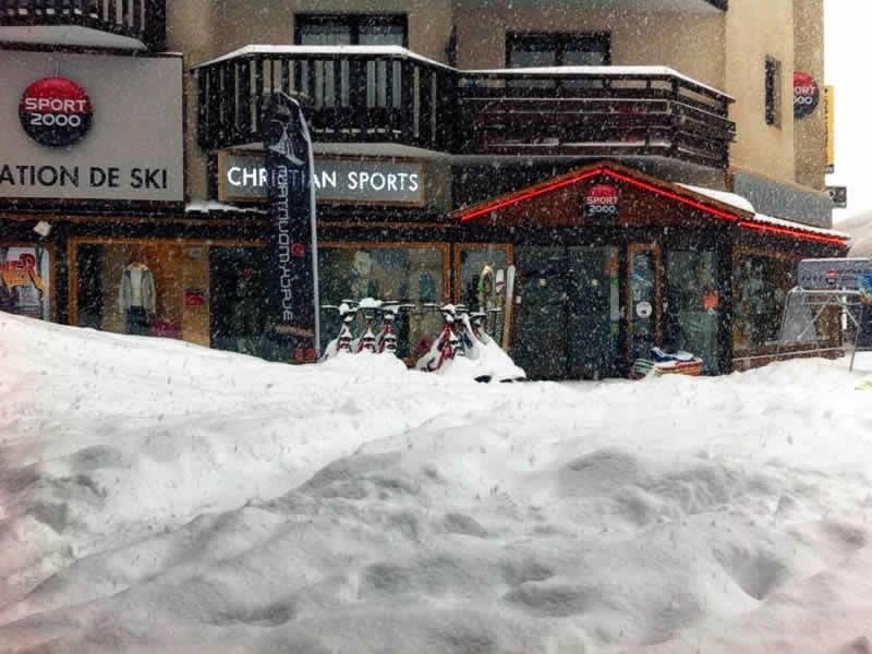 Magasin de location de ski CHRISTIAN SPORTS à Orrianes des sources, Les Orres