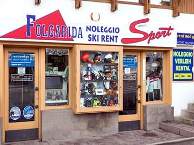 Magasin de location de ski FOLGARIDA SPORT, Folgarida à P.le Folgarida, 4/5