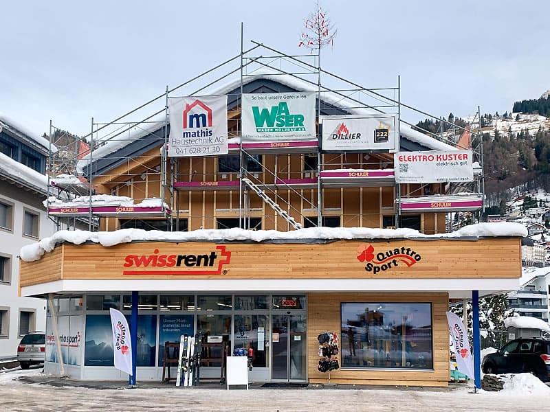 Magasin de location de ski Swissrent Quattro à Parkplatz Titlisbahnen - Engelbergerstrasse 38, Engelberg