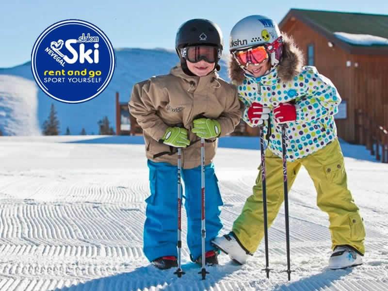 Magasin de location de ski Slalom Ski Service à Piazzale le Nevegal, 167, Nevegal