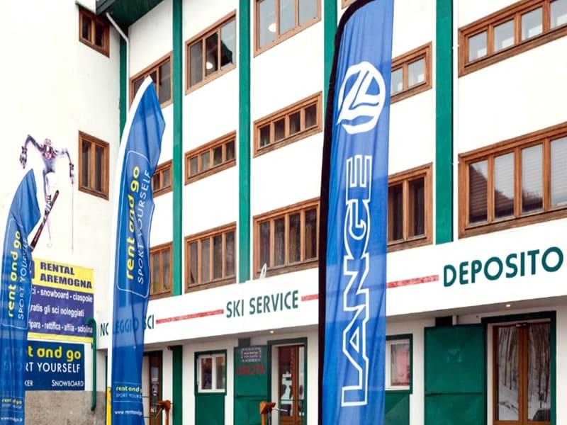 Magasin de location de ski Rental Aremogna à Piazzale Telecabina Aremogna, Roccaraso