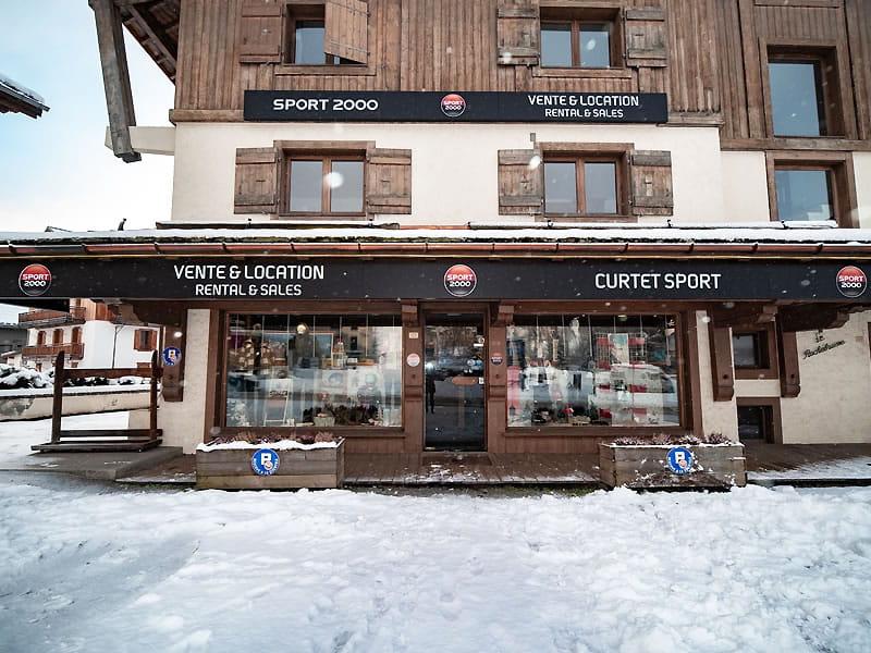 Magasin de location de ski CURTET SPORT à Place de l'Eglise - 121, route du Val d'Arly, Praz sur Arly